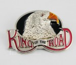 3D New Hot King Of The Road Eagle Biker Motorcycle Metal Men's Boys Belt Buckle