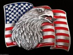 AMERICA OLD GLORY EAGLE FLAG BELT BUCKLES FOR MEN WOMEN BELTS BUCKLES BOUCLE