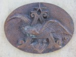 ANHEUSER BUSCH BELT BUCKLE w/ EAGLE A LOGO - LooK