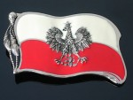BB0014 Poland With Eagle Country Flag Belt Buckle New Cool Hot