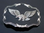 BB0050 USA Eagle Falcon Hawk Glede Wildlife Belt Buckle New Cool