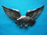BRAND NEW SILVER FLYING EAGLE BELT BUCKLE