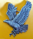 EAGLE FLYING WINGS SPREAD BALD AMERICAN EAGLES PREY BIRDS BELT BUCKLE BUCKLES