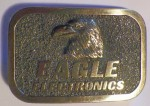 Eagle Electronics Bronze Belt Buckle