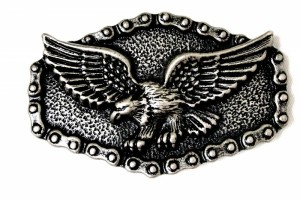 Flying Eagle And chain Belt Buckle