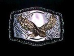 NICE USA EAGLE DESIGN METAL BELT BUCKLE NO1 #074