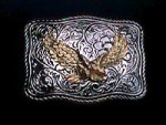 NICE USA EAGLE DESIGN METAL BELT BUCKLE NO2 #075