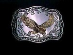 NICE USA EAGLE DESIGN METAL BELT BUCKLE NO3 #076