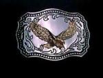 NICE USA EAGLE DESIGN METAL BELT BUCKLE NO3 #076