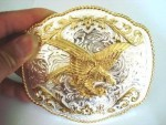 New Eagle Belt Buckle Buckles Texas Western Rodeo