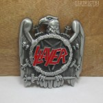 SLAYER EAGLE EMBLEM LOGO BELT BUCKLE - G?rtelschnalle - Thrash Speed Metal