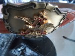 AMERICAN EAGLE BUCKLE WITH BELT