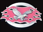 BB0137 Celtic Red Fire Flying Eagle USA Belt Buckle New Cool Hot