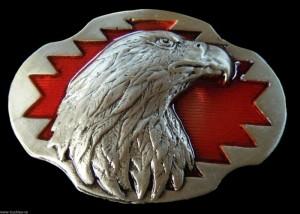 Eagle Falcon Bird Wildlife Belt Buckle For Men r Women Belts Buckles