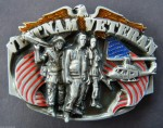 VIETNAM VETERAN WAR HERO ARMY HELICOPTER EAGLE USA FLAG BELT BUCKLE BUCKLES