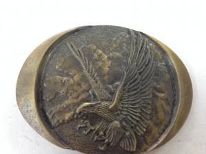 Vintage Indiana Metal Craft 1982 Bald Eagle Belt Buckle~2nd