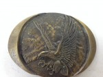 Vintage Indiana Metal Craft 1982 Bald Eagle Belt Buckle~2nd