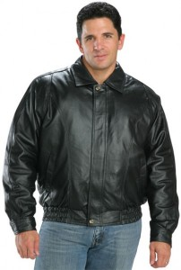 Classic Mens Leather Bomber Jackets 1500