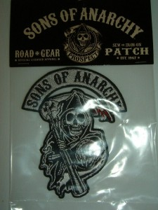 Sons of Anarchy SOA Tv Show Reaper Logo Shirt Patch