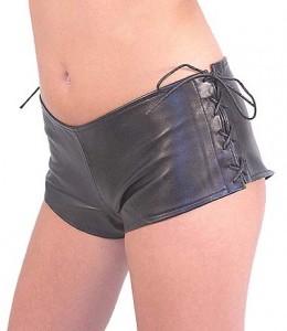 Lambskin Bootie Shorts SH965L
