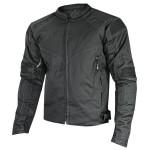 Xelement 'Torque' Mens Black Doublon Textile Jacket XS-90033