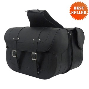 Leather Saddlebags - Motorcycle Leather Saddlebags SD2050