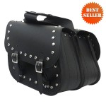 Leather Saddlebags - Motorcycle Leather Saddlebags SD4036