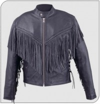 Himalaya 210 Mens Leather Motorcycle Jacket