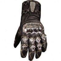 Jackets4Bikes Long Steel Motorcycle Gloves