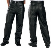 Xelement Classic Loose Fit Mens Leather Pants B860