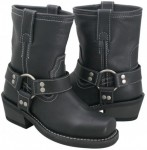 Xelement  Ladies Classic Motorcycle Harness Boots 2467