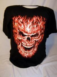 Flaming Skull 1