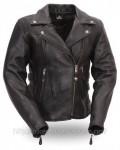 FMC Womens Boulevard Motorcycle Biker Jacket
