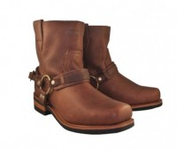 Xelement Brown Hell Rider Harness Motorcycle Booots X1907