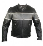 Xelement Cool Rider Collarless Motorcycle Jacket B9103