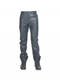 Classic Leather Mens Pants