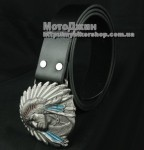 Indian Chief Head Buckle
