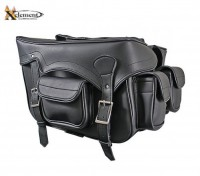 Xelement PVC Zip-Off Waterproof Saddlebags X666ZB