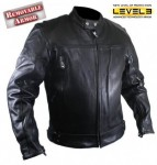Xelement Premium Buffalo Leather Motorcycle Jacket B8166