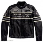 HARLEY Mens Thunder Valley Leather Jacket