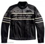 HARLEY Mens Thunder Valley Leather Jacket