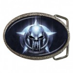 Predator Skull Belt Buckle