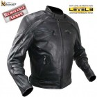 Xelement Advanced Armor Mens Naked Black Leather Jacket B-4520
