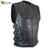 Xelement Triple Strap Design Motorcycle Vest B95080