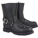Xelement LU-2572 Womens Warrior Black Motorcycle Boots
