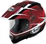 Arai XD3 Thierry van den Bosch Red