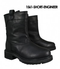 Xelement  Short  Leather Motorcycle Boots 1561