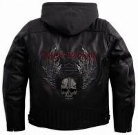 Harley Davidson Dungeon 3-in-1 Leather Jacket 97179-10VM