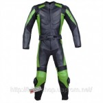 Jackets4Bikes 2PC LEATHER RACING SUIT ARMOR