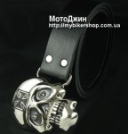 Lighting Eye Skull Chopper Buckle